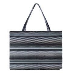 Sheet Holes Roller Shutter Medium Tote Bag
