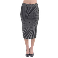 Abstract Art Color Design Lines Midi Pencil Skirt by Nexatart