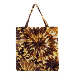 Mussels Lamp Star Pattern Grocery Tote Bag by Nexatart
