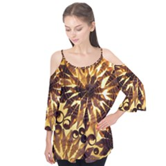 Mussels Lamp Star Pattern Flutter Tees