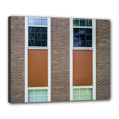 Pattern Symmetry Line Windows Canvas 20  X 16