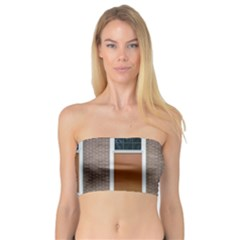 Pattern Symmetry Line Windows Bandeau Top
