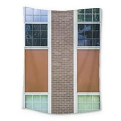 Pattern Symmetry Line Windows Medium Tapestry