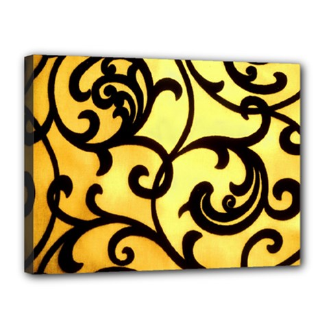 Texture Pattern Beautiful Bright Canvas 16  X 12  by Nexatart