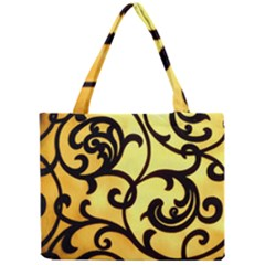 Texture Pattern Beautiful Bright Mini Tote Bag by Nexatart