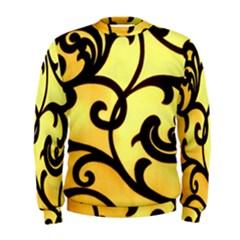 Texture Pattern Beautiful Bright Men s Sweatshirt