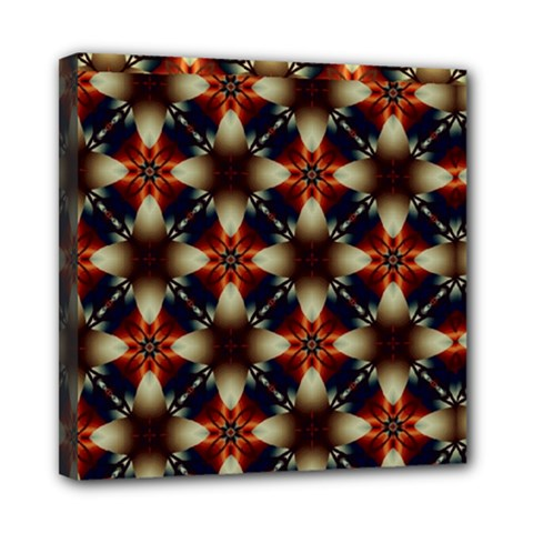 Kaleidoscope Image Background Mini Canvas 8  X 8  by Nexatart
