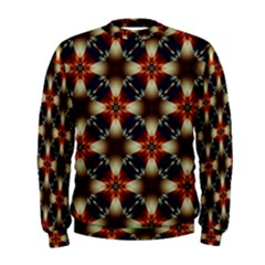 Kaleidoscope Image Background Men s Sweatshirt
