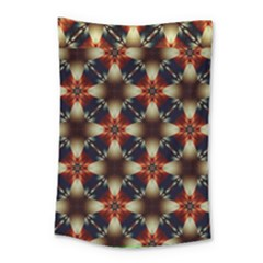 Kaleidoscope Image Background Small Tapestry
