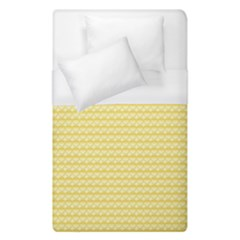Pattern Yellow Heart Heart Pattern Duvet Cover (Single Size)