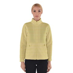 Pattern Yellow Heart Heart Pattern Winterwear
