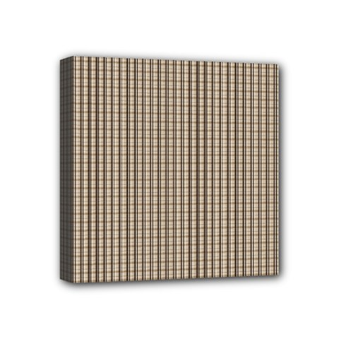 Pattern Background Stripes Karos Mini Canvas 4  X 4  by Nexatart