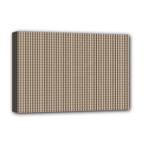 Pattern Background Stripes Karos Deluxe Canvas 18  X 12