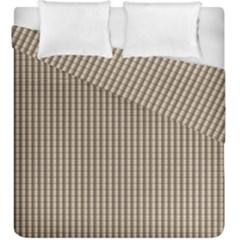 Pattern Background Stripes Karos Duvet Cover Double Side (king Size) by Nexatart