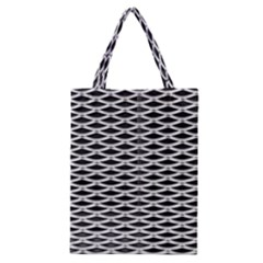 Expanded Metal Facade Background Classic Tote Bag