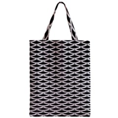 Expanded Metal Facade Background Zipper Classic Tote Bag by Nexatart