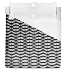 Expanded Metal Facade Background Duvet Cover (queen Size) by Nexatart
