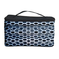Texture Pattern Metal Cosmetic Storage Case by Nexatart