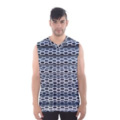 Texture Pattern Metal Men s Basketball Tank Top