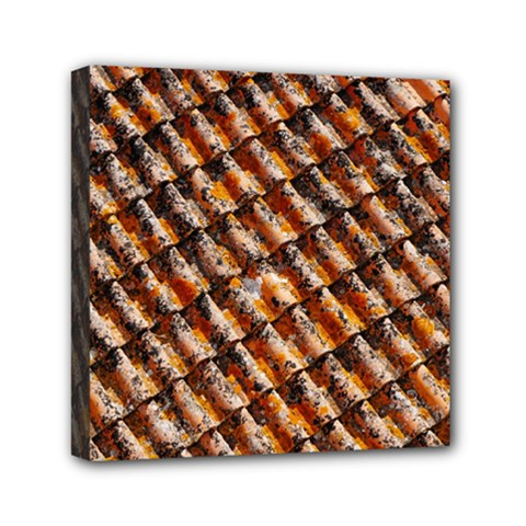 Dirty Pattern Roof Texture Mini Canvas 6  X 6