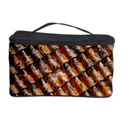 Dirty Pattern Roof Texture Cosmetic Storage Case by Nexatart