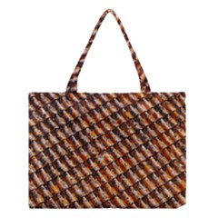 Dirty Pattern Roof Texture Medium Tote Bag