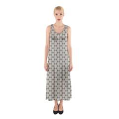 Background Website Pattern Soft Sleeveless Maxi Dress