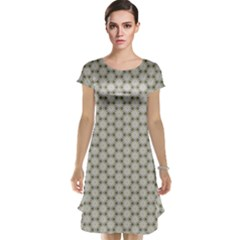 Background Website Pattern Soft Cap Sleeve Nightdress
