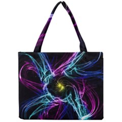 Abstract Art Color Design Lines Mini Tote Bag by Nexatart