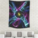 Abstract Art Color Design Lines Medium Tapestry View2