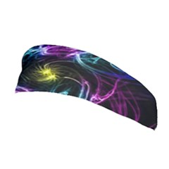 Abstract Art Color Design Lines Stretchable Headband