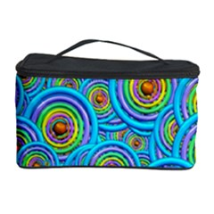 Digital Art Circle About Colorful Cosmetic Storage Case