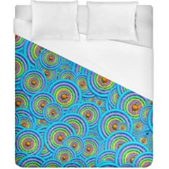 Digital Art Circle About Colorful Duvet Cover (california King Size)