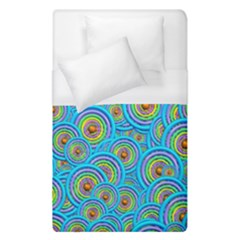 Digital Art Circle About Colorful Duvet Cover (single Size) by Nexatart