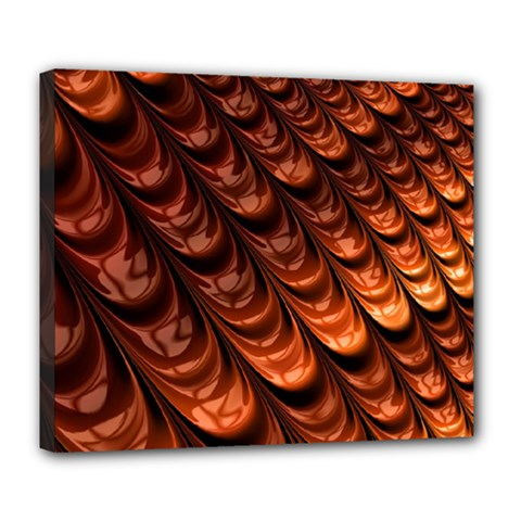 Fractal Mathematics Frax Deluxe Canvas 24  X 20   by Nexatart