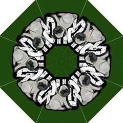 Pug Golf Umbrellas by Valentinaart