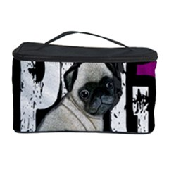 Pug Cosmetic Storage Case by Valentinaart
