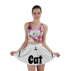 Love My Cat Mommy Mini Skirt by Catifornia