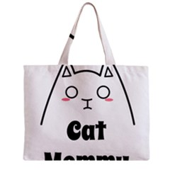 Love My Cat Mommy Mini Tote Bag by Catifornia
