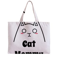 Love My Cat Mommy Zipper Mini Tote Bag by Catifornia