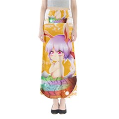 Easter Bunny Girl Maxi Skirts by Catifornia