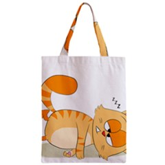 Even Cat Hates Monday Classic Tote Bag by Catifornia