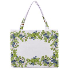 Birthday Card Flowers Daisies Ivy Mini Tote Bag by Nexatart