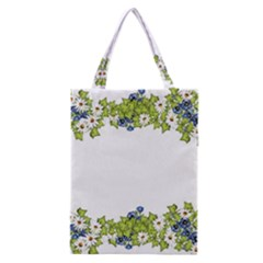 Birthday Card Flowers Daisies Ivy Classic Tote Bag