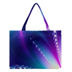 Flow Blue Pink High Definition Medium Tote Bag by Mariart