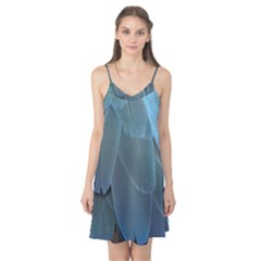 Feather Plumage Blue Parrot Camis Nightgown