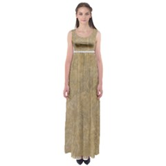 Abstract Forest Trees Age Aging Empire Waist Maxi Dress
