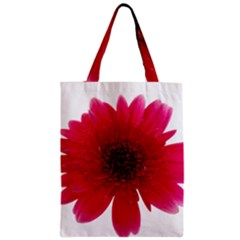 Flower Isolated Transparent Blossom Zipper Classic Tote Bag