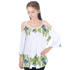 Birthday Card Flowers Daisies Ivy Flutter Tees