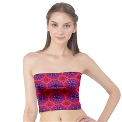 Retro Abstract Boho Unique Tube Top